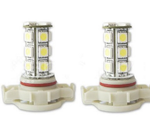 408 5202 H16 5201 Replacement LED Bulbs 18SMD